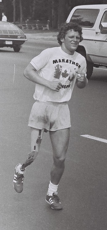 Terry Fox test of a vision