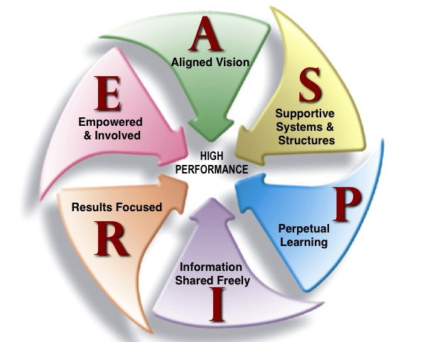 HPO ASPIRE: The Characteristics of High Performing Organizations