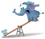 Create an Unbalancing Force if You Want to Move an Elephant