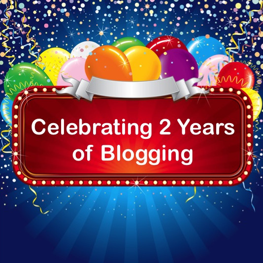 Celebrating the 2nd Anniversary of My Blog