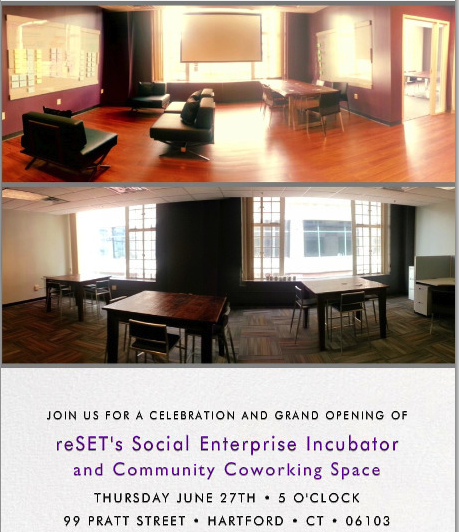 reSET Coworking Space Opening