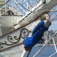 Ship prow figurehead