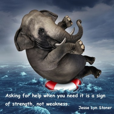 Strong Leaders Ask For Help