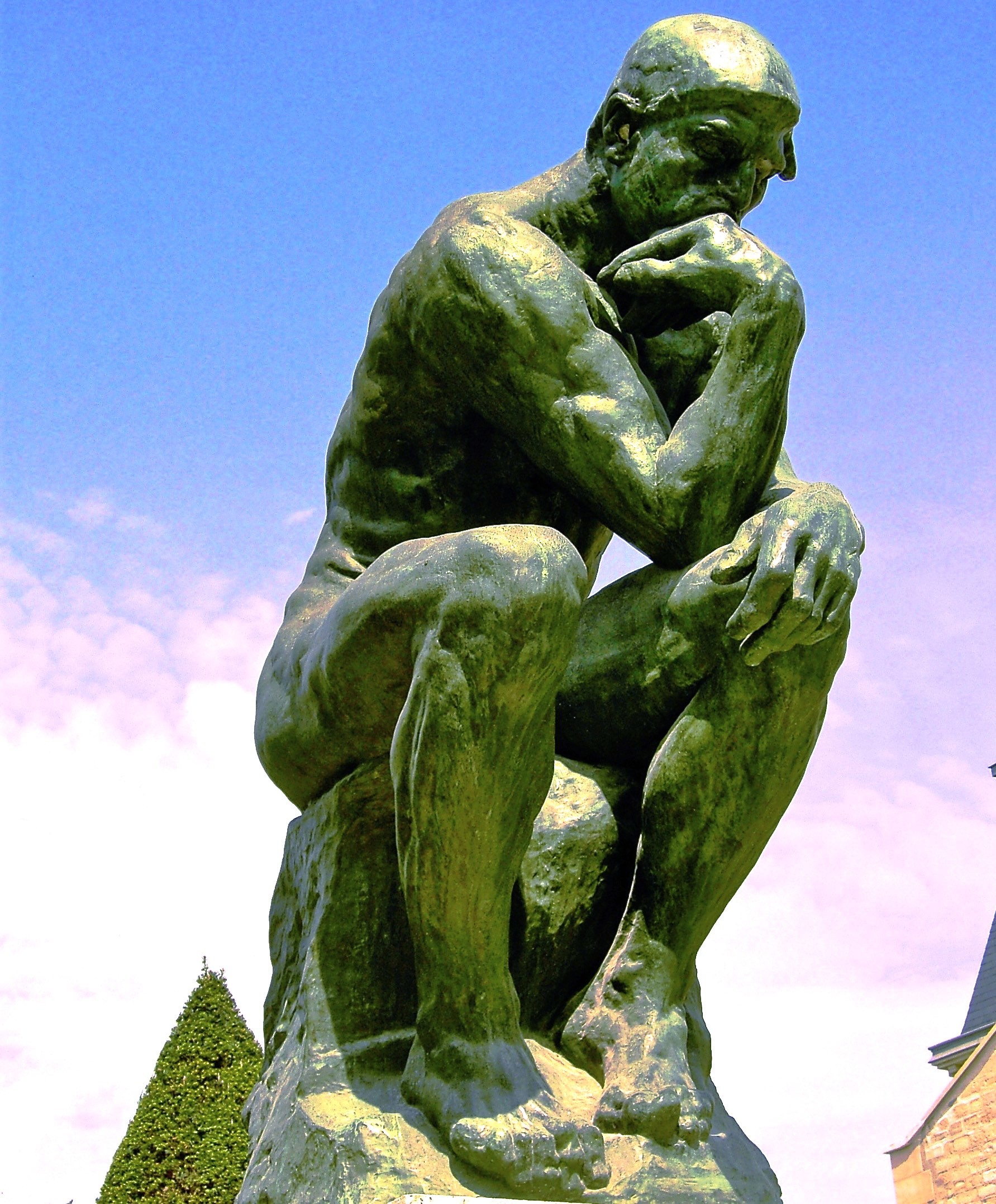 The Thinker Thinking About How to Involve Others in Decisions