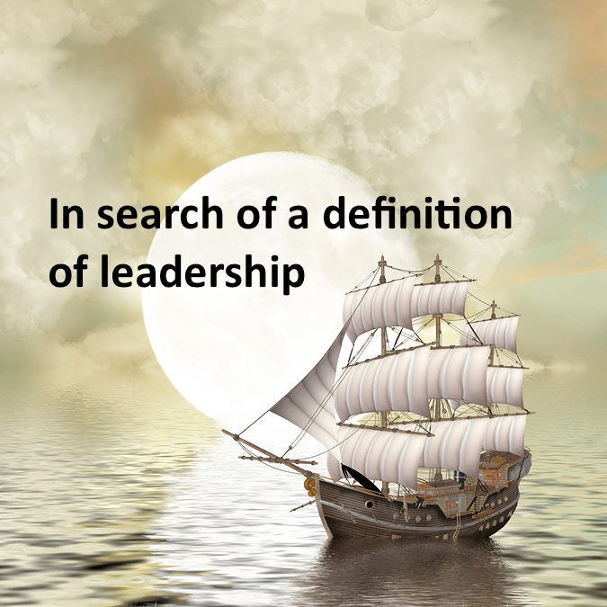 A definition of leadership for these pressing times