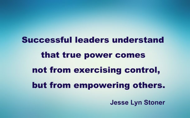 Successful leaders understand true power