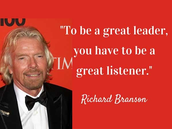Successful Leaders Listen