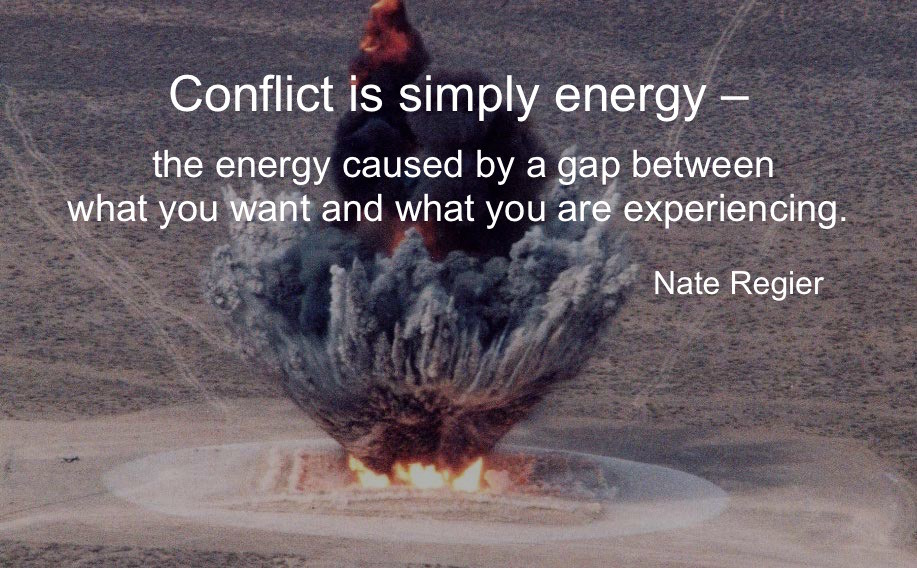 How To Turn Conflict into an Energy Source, NOT an Energy Drain