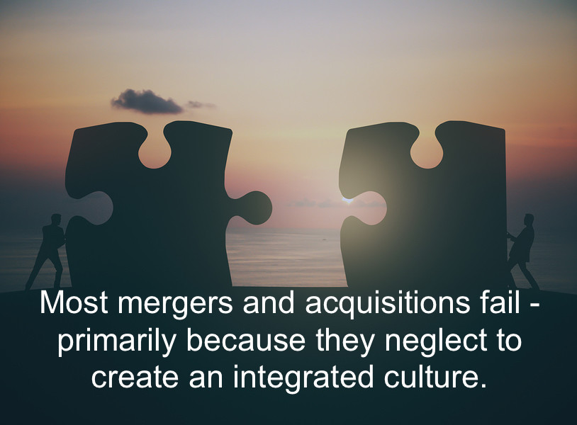 merger and acquisition fail culture integration