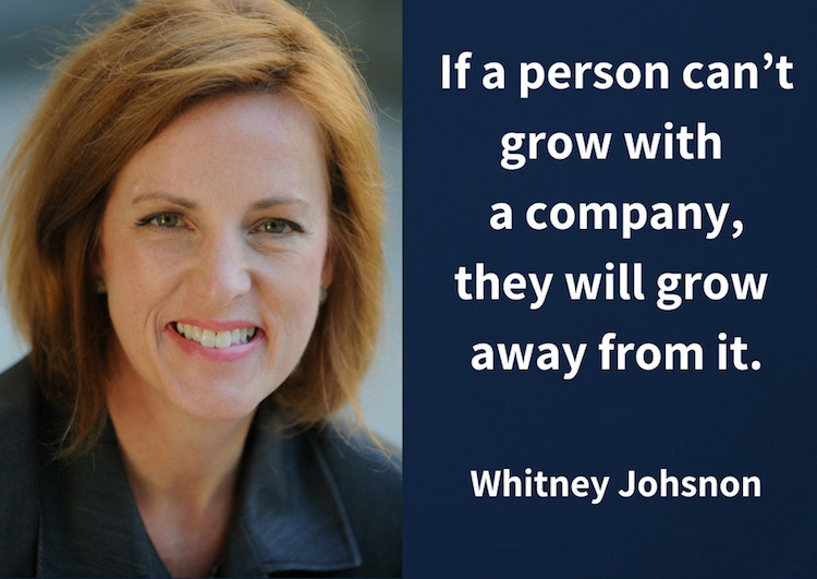 Whitney Johnson on Building an A-Team
