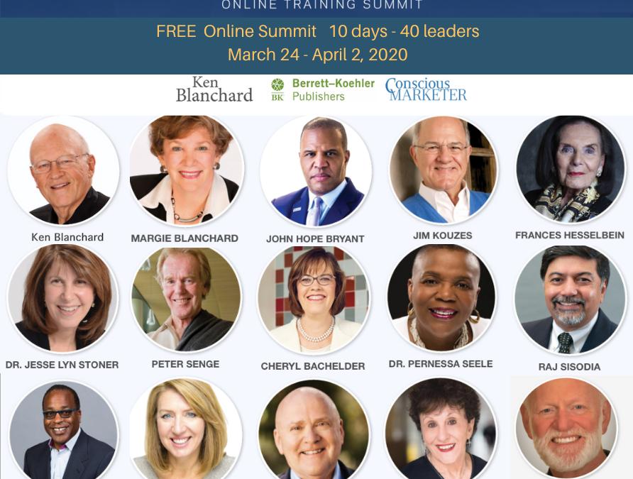 Free Online Servant Leadership Summit